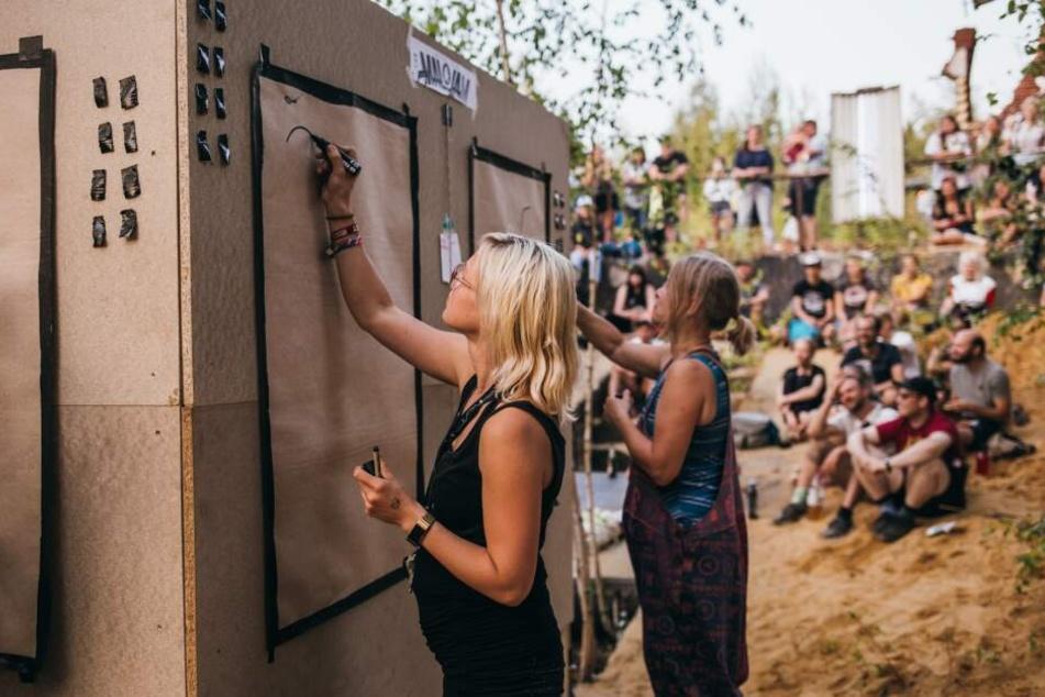 Kunstfestival ibug in Reichenbach: Besucherschwund zum Start