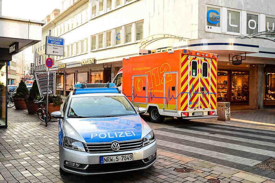 In einer Bielefelder Sprachschule soll der 51-Jährige seine Ehefrau attackiert haben.