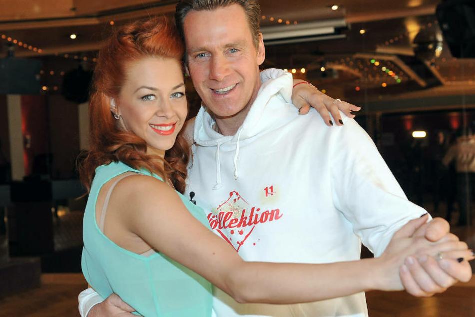 """Oana Nechiti hatte Jürgen Milski bei """"Let's Dance"""" immerhin tänzerisch fit für Platz sechs gemacht."""