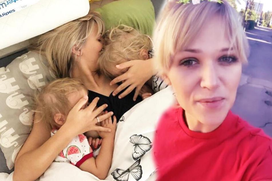 Zu Ostern schenkte Ex-GNTM-Model Sara Kulka ihren Töchtern nichts.