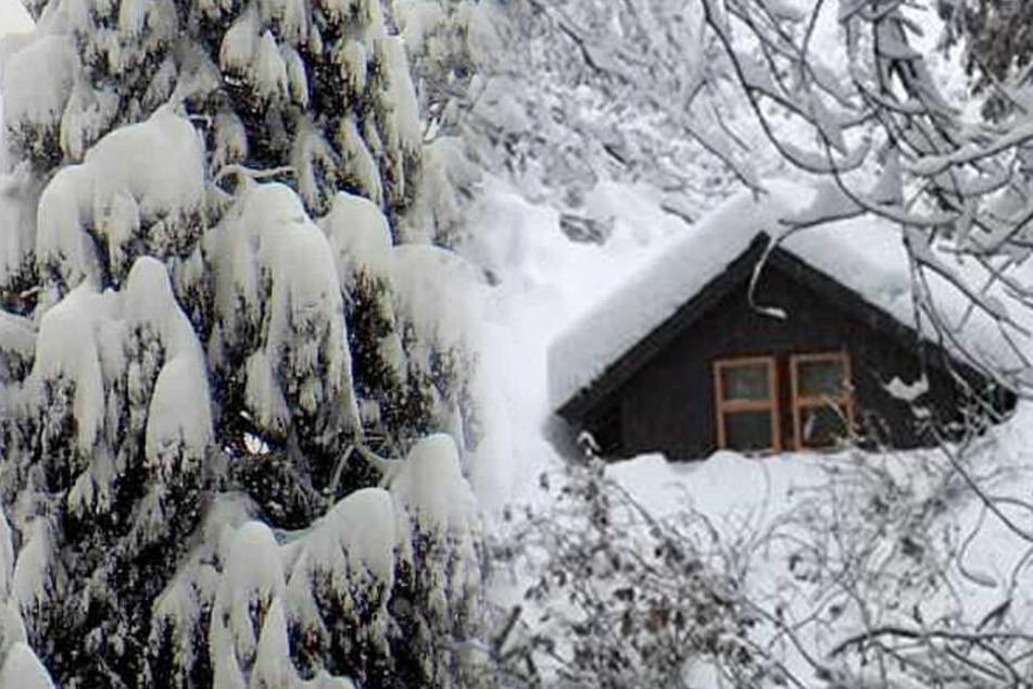 Schneemassen und Sturm! Beliebter Touristen-Hotspot von Außenwelt abgeschnitten