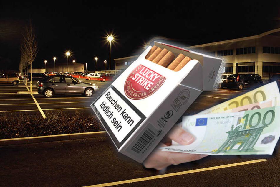 Für ihre Beute von 100 Euro Bargeld und einer Schachtel Zigaretten schlugen drei Männer brutal auf einen 30-jährigen ein, ließen ihn liegen.