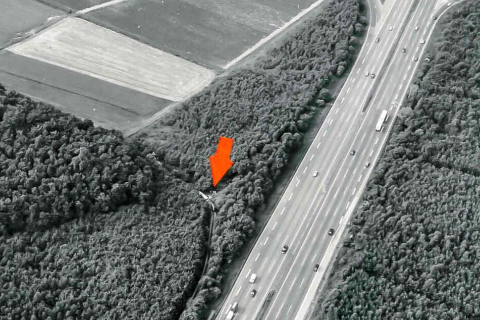 Der Leichnam der unbekannten Toten wurde am 21. Juni 1988 an der A5 nahe Friedberg entdeckt.