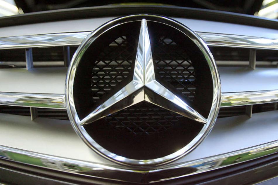 Der Dieb hatte nicht lange was von seinem geklauten Mercedes. (Symbolbild)