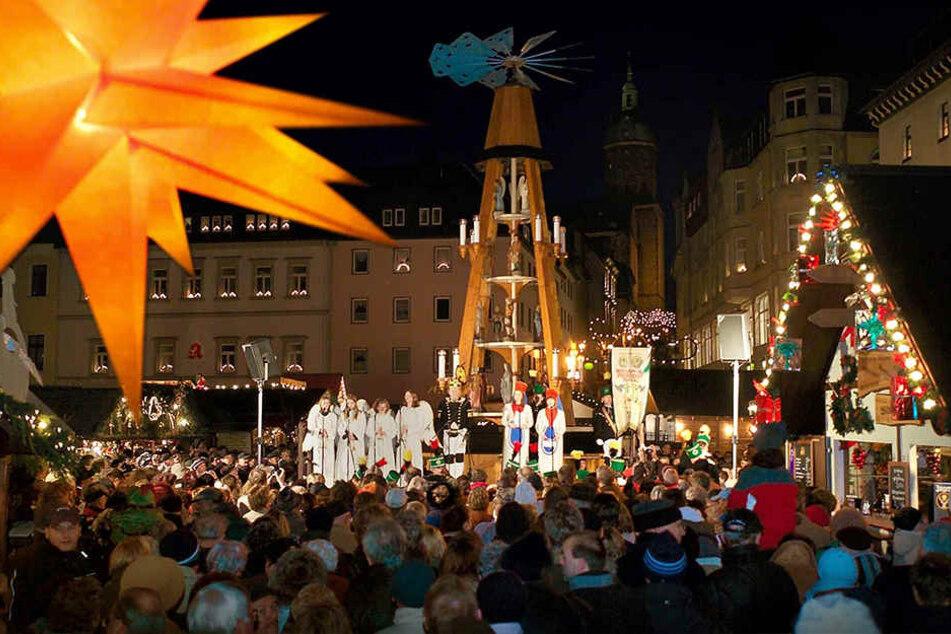 Der Annaberger Weihnachtsmarkt wird dank MDR nun noch berühmter.