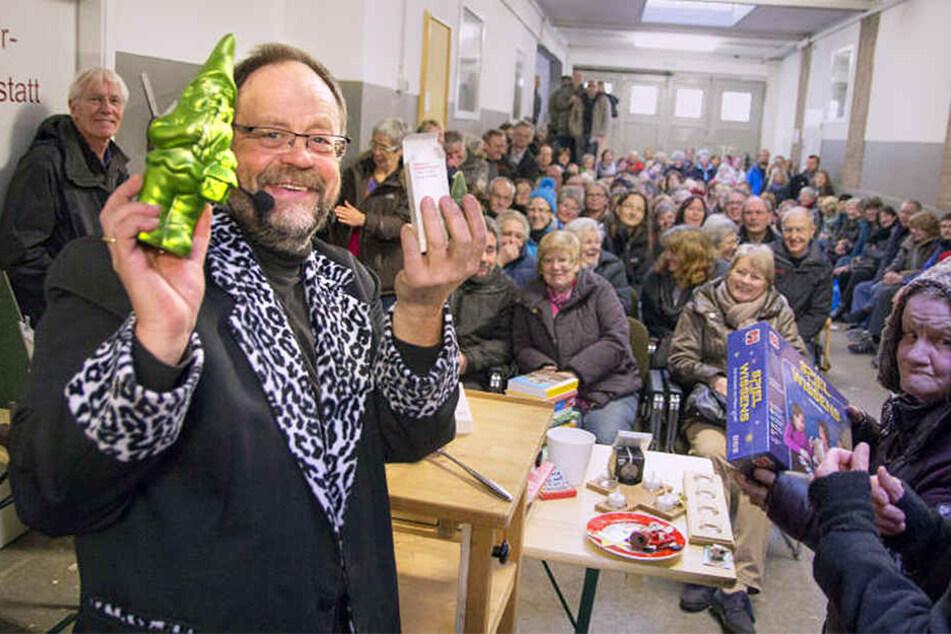 Auktionator Christian Presch veranstaltet die Versteigerung bereits zum 19. Mal.