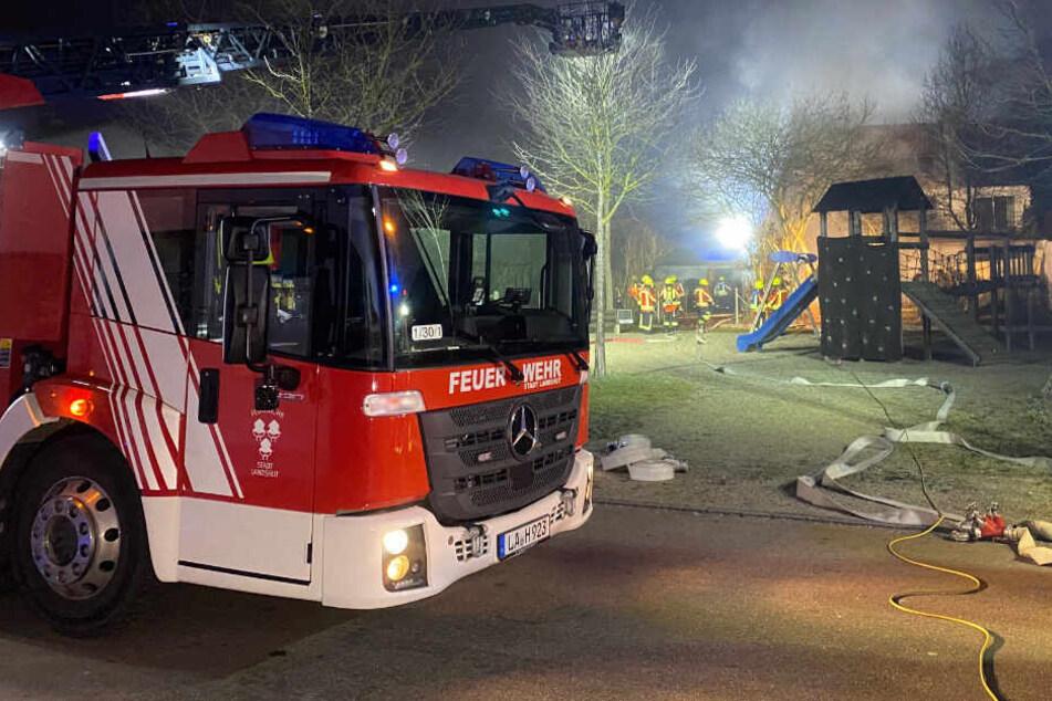 Tödliches Feuer-Drama: Mann stirbt bei Brand im Wohnhaus