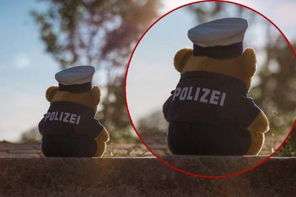 Dieser Polizei-Teddy hilft traumatisierten Kindern