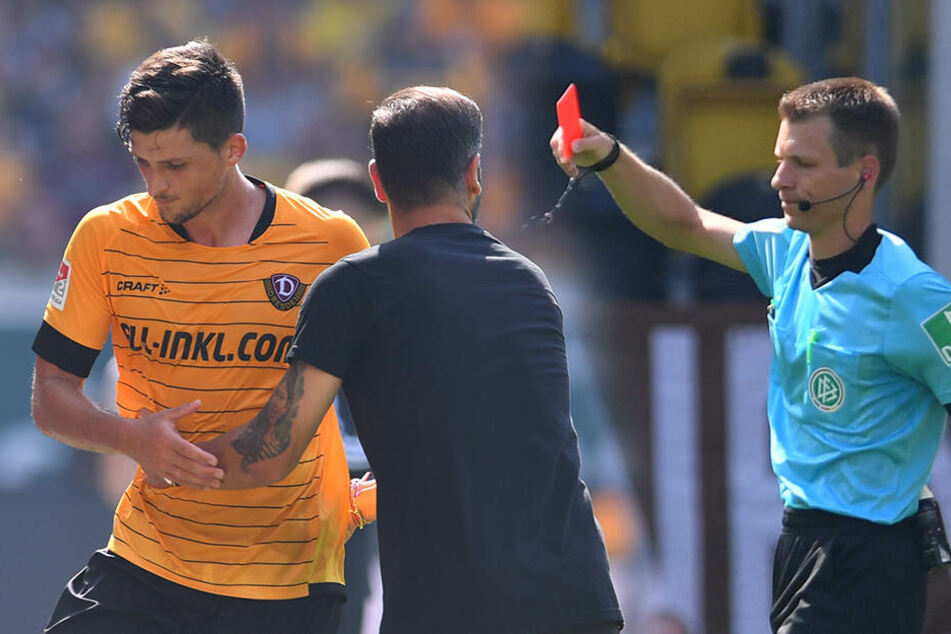 Gegen St. Pauli sah Nikolaou am 31. August Rot nach Videobeweis und musste den gesamten September zuschauen.