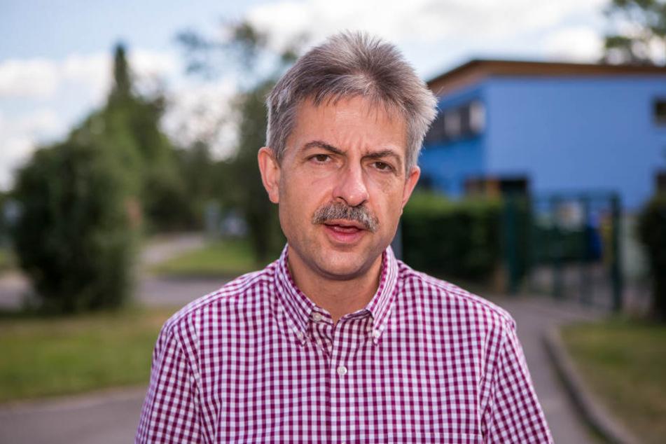 Der Leipziger Tierheim-Leiter Michael Sperlich weist jegliche Vorwürfe von sich.