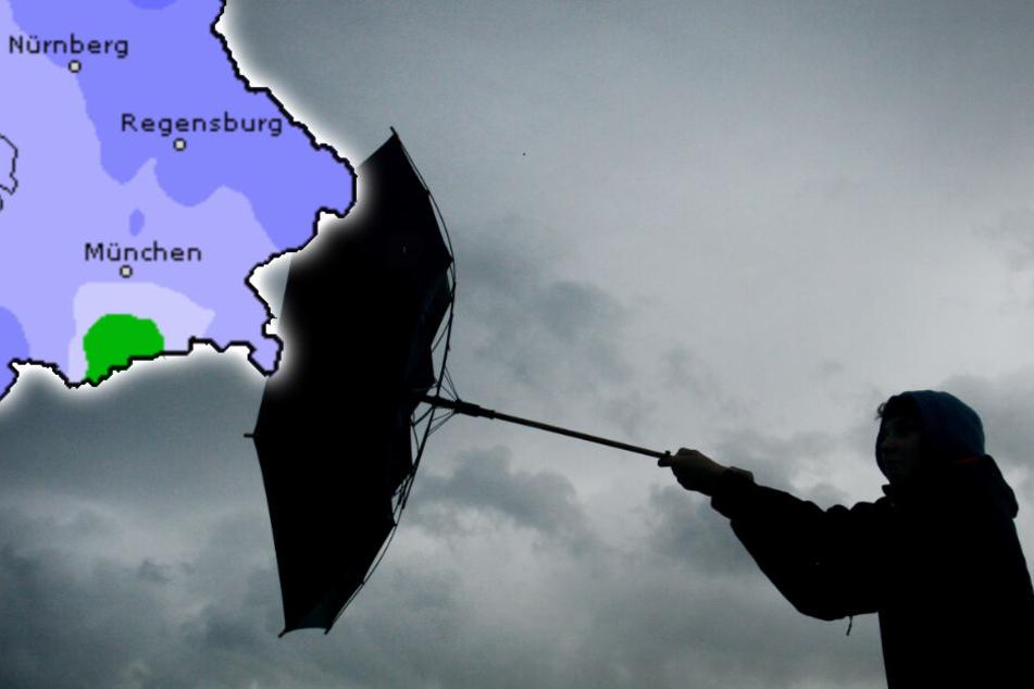 Wetter in Bayern am Wochenende: Es wird ungemütlich!