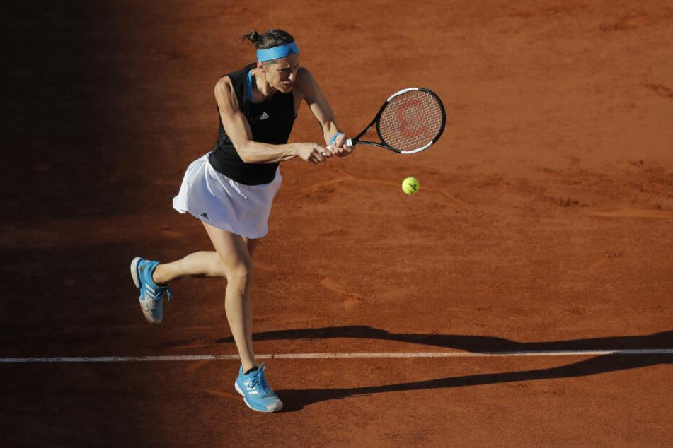 In Paris bei den French Open erreichte Andrea Petkovic (31) als einzige Deutsche die dritte Runde.