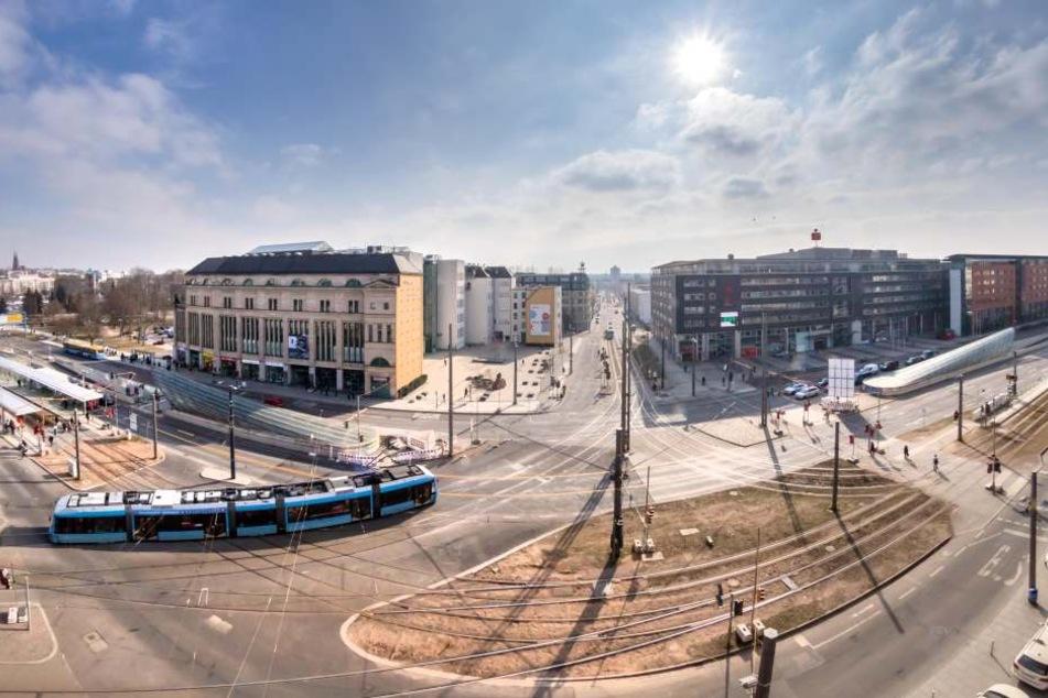 Am Montag beginnt der vierte Bauabschnitt an der Zenti im Bereich vor dem Tietz.