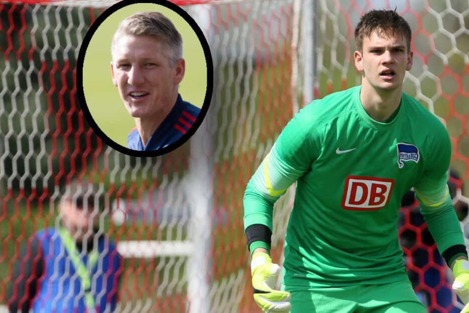 Berliner Torwart-Talent: Von der Hertha-Bank zu Schweinsteiger in die MLS!