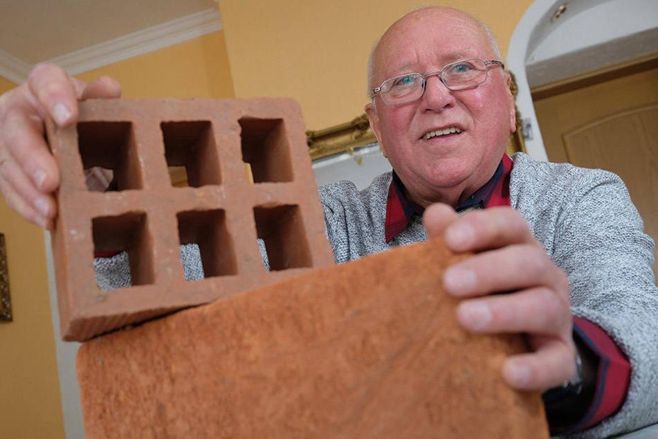 Der 80-Jährige war schon zu DDR-Zeiten in Afrika, um Fabriken aufzubauen.