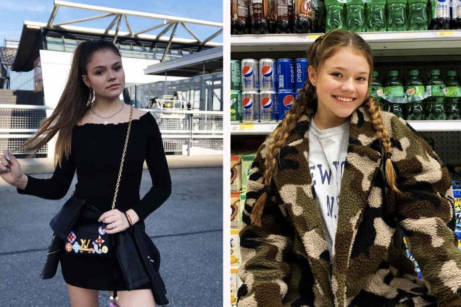 Zeigt sich ungern freizügig: Faye Montana (15), Tochter von Schauspielerin Anne-Sophie Briest.