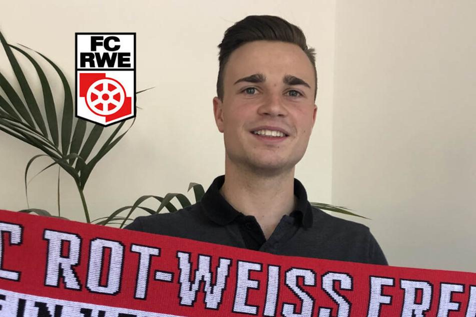 Rot-Weiß Erfurt holt Verteidiger von Liga-Konkurrent