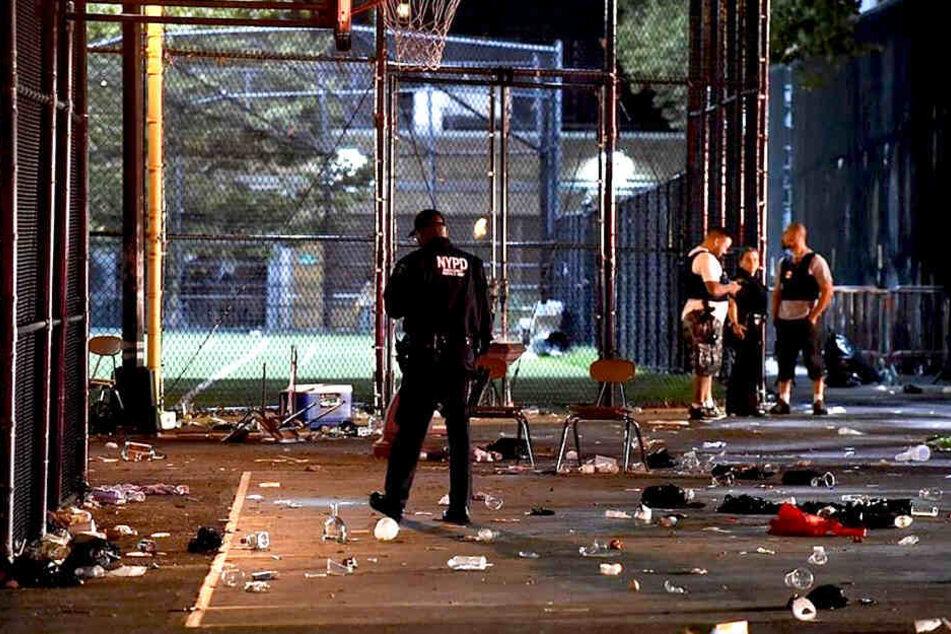 Schüsse im Problemviertel: Mann bei Nachbarschaftsfest getötet