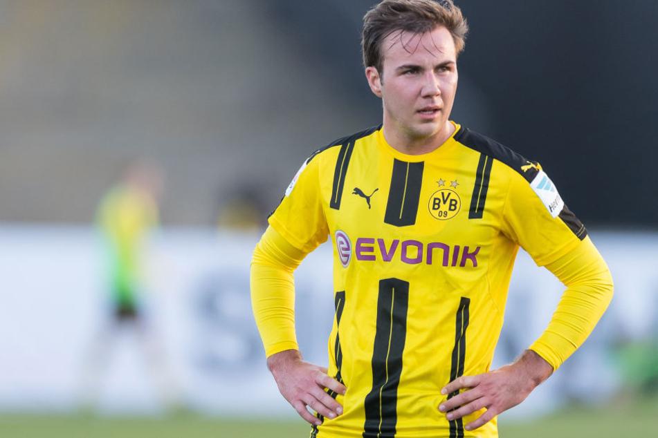 Mario Götze fällt wegen einer Stoffwechselerkrankung wohl längere Zeit beim BVB aus.