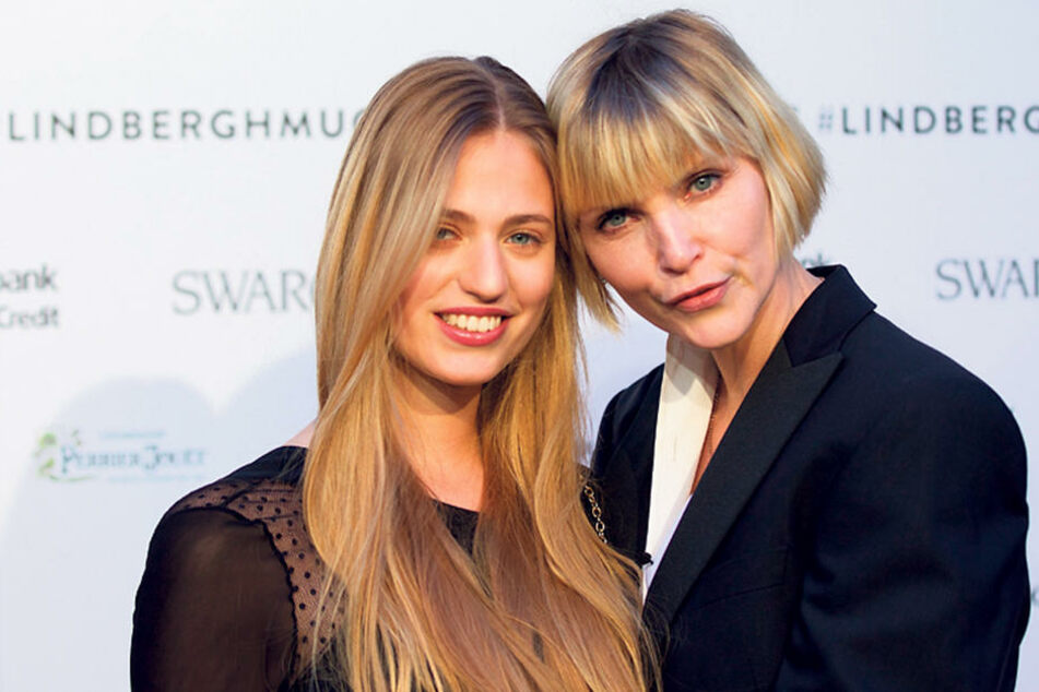 Models im Doppelpack: Cosima Auermann (20) und ihre Mama Nadja (46).