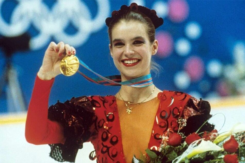 "Im ""Carmen""-Kleid holte Katarina Witt (52) 1988 die Goldmedaille bei Olympia."