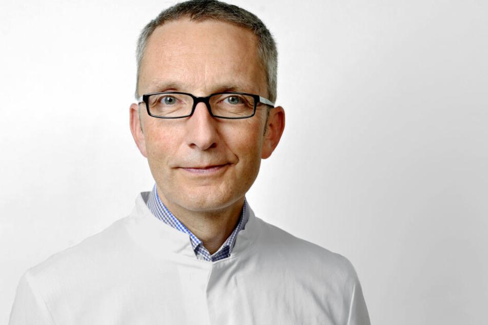 Prof. Reinhard Berner (55) leitet die Kinderklinik am Universitätsklinikum.