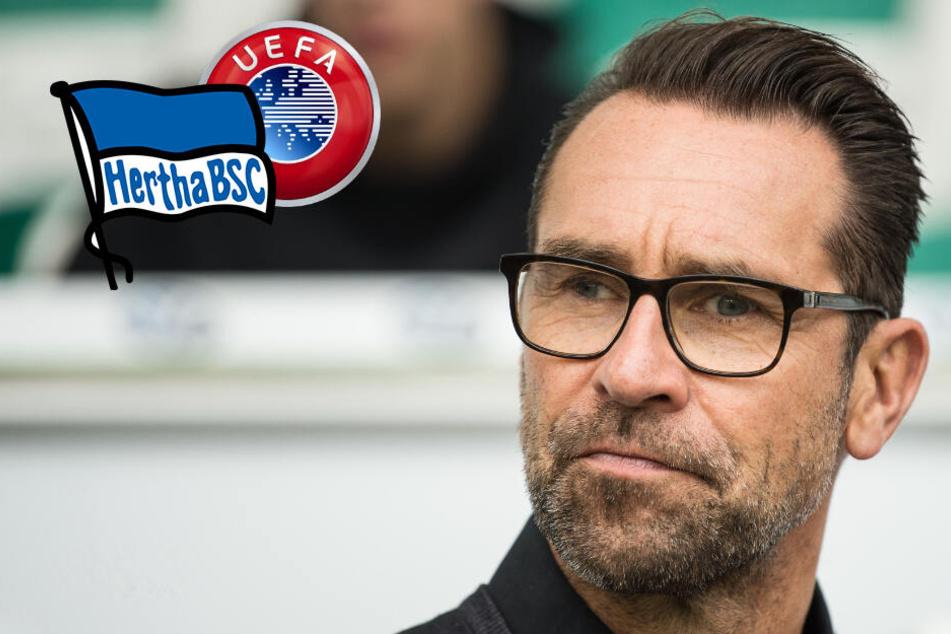 "Hertha-Manager Preetz schießt gegen ""fatale"" Europapokal-Pläne!"