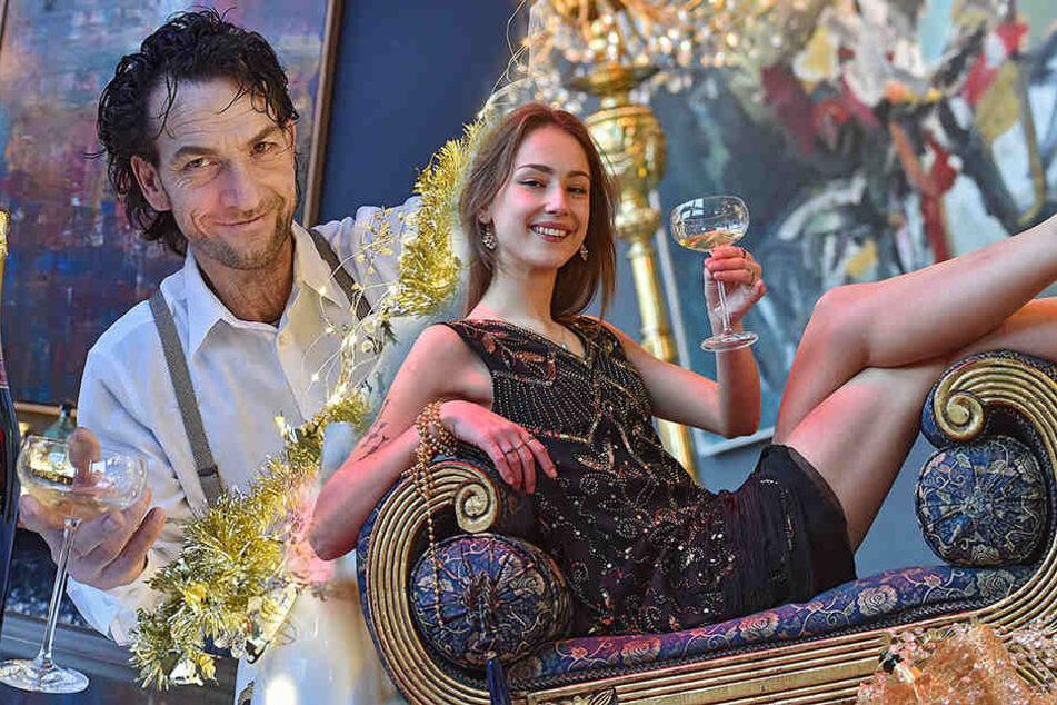 Dekadent wie in den Goldenen 20ern: Große Gatsby-Party in Dresden
