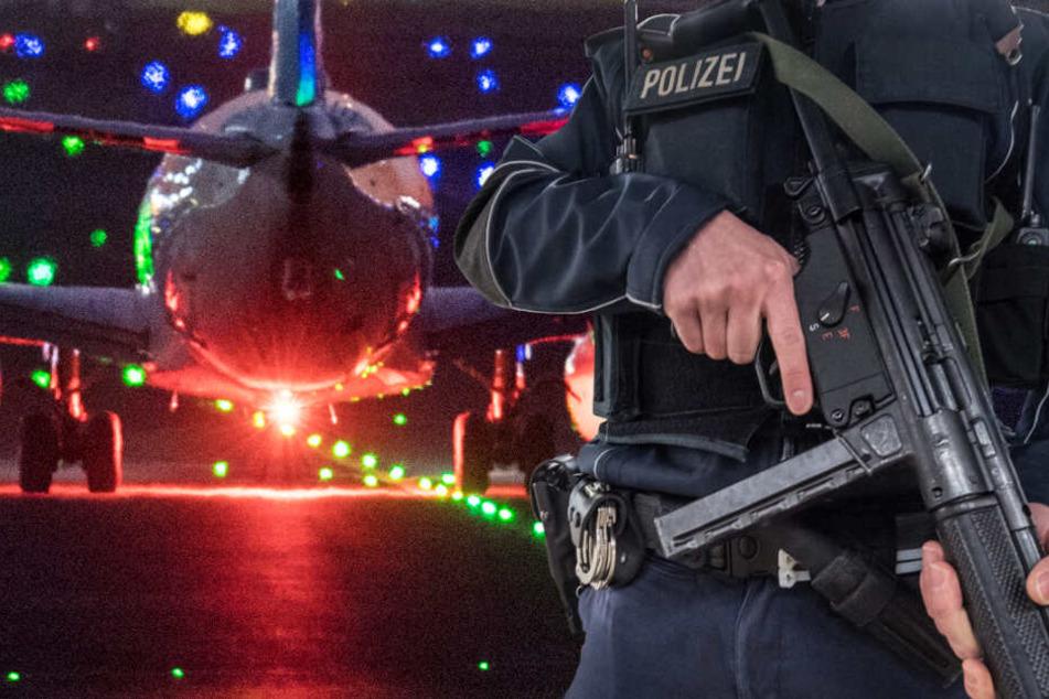 Ob die angeblichen Terroristen am Flughafen Frankfurt landen werden, ist ebenfalls noch unklar (Symbolbild).