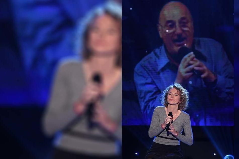 Tochter Fanny Krug (47) sang ein letztes Duett mit ihrem Vater.
