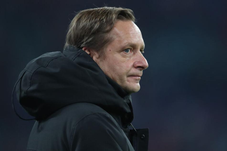 Horst Heldt, Sportdirektor des 1. FC Köln.