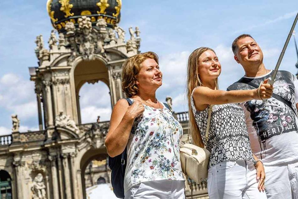 """""""Echt schön hier!"""" Das gefällt Touristen am Urlaub in Dresden"""
