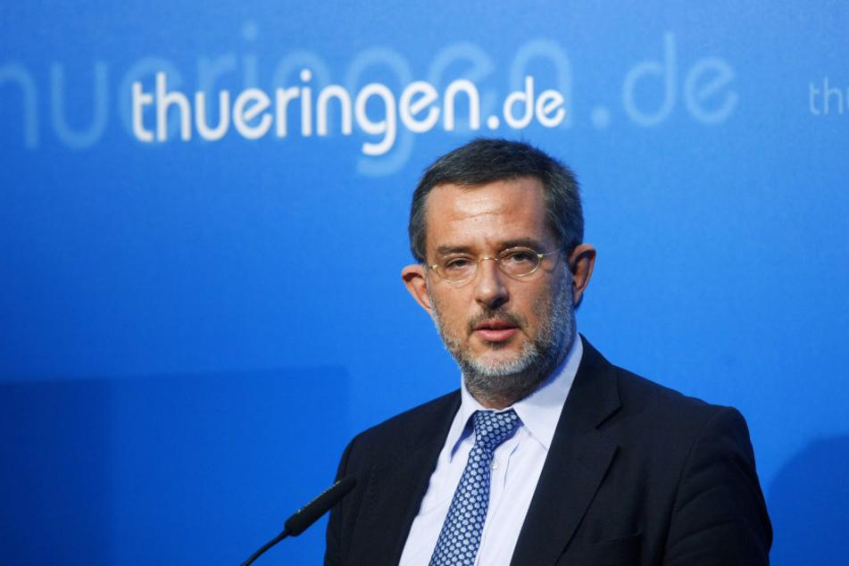 Verfassungsschutz-Chef Stephan Kramer