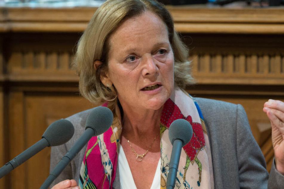 Anna von Treuenfels-Frowein,Vorsitzenden der FDP-Bürgerschaftsfraktion, hatte die Anfrage gestellt.