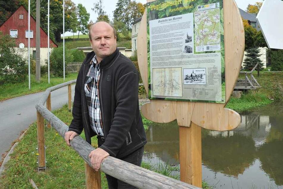 Bürgermeister von Mühlental: Andreas Kracke.