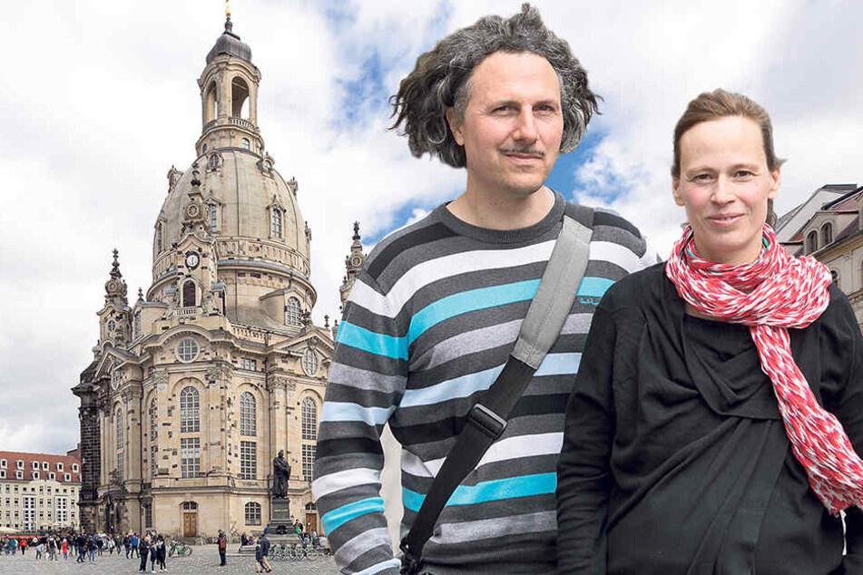 Seit 2011 entwickeln die beiden Künstler Heike Mutter (47) und Ulrich Genth (46) ihre Skulptur.