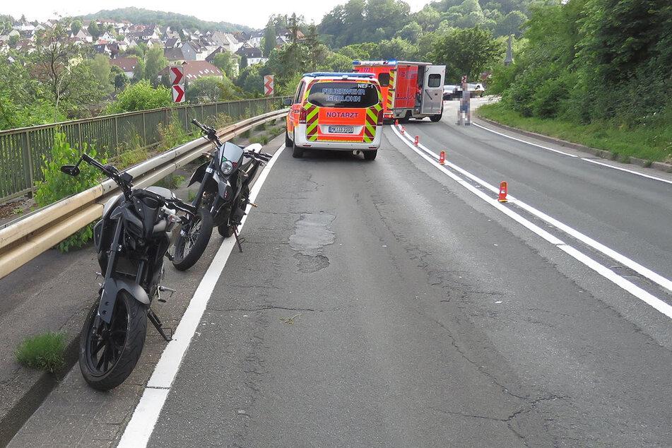 An der Igelstraße verlor der 15-Jährige die Kontrolle über sein Motorrad.