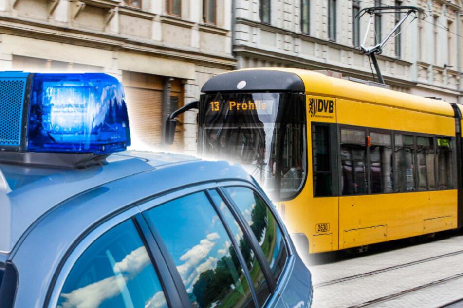 Der Staatsschutz der Polizeidirektion Dresden ermittelt gegen den Straßenbahnfahrer der Linie 13. (Symbolbild)