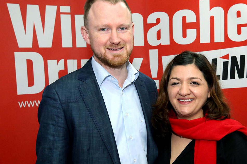 Mit Christian Leye und Özlem Demirel gehen die Linken in den Wahlkampf in NRW.