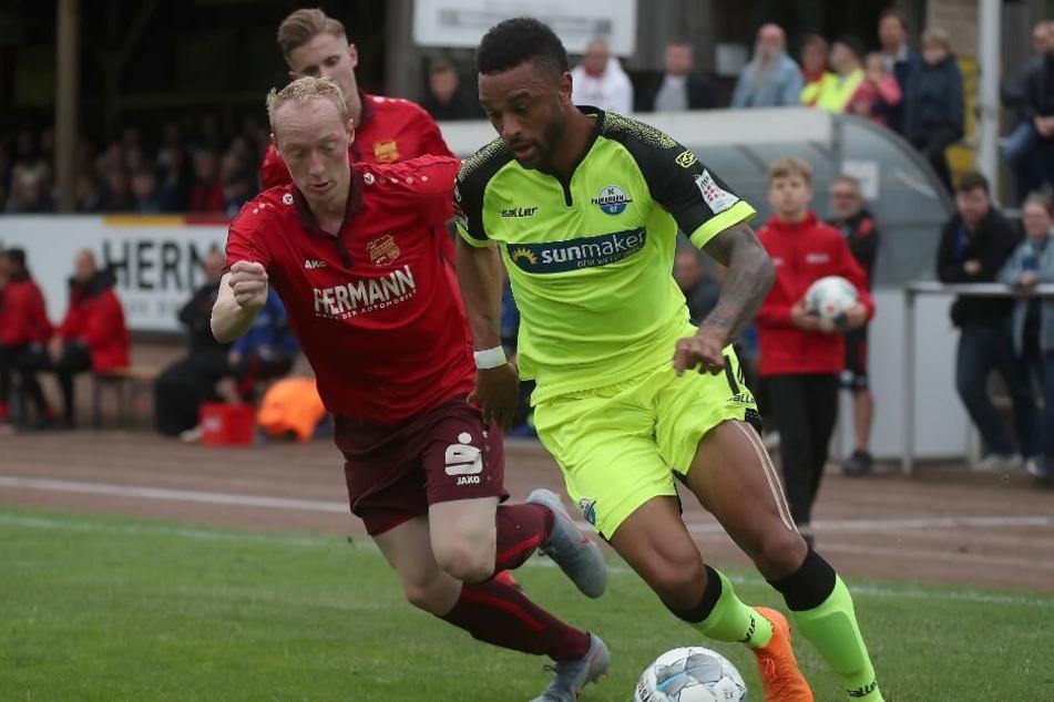 Khiry Shelton (r.) könnte den Verein auch schon bald wieder verlassen.