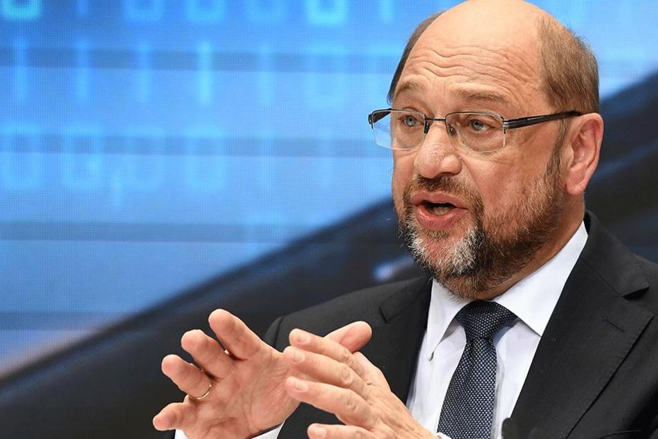 """SPD-Kanzlerkandidat Martin Schulz (61) präsentiert am 16. Juli in Berlin seinen Zukunftsplan """"Das moderne Deutschland - Zukunft, Gerechtigkeit, Europa"""""""