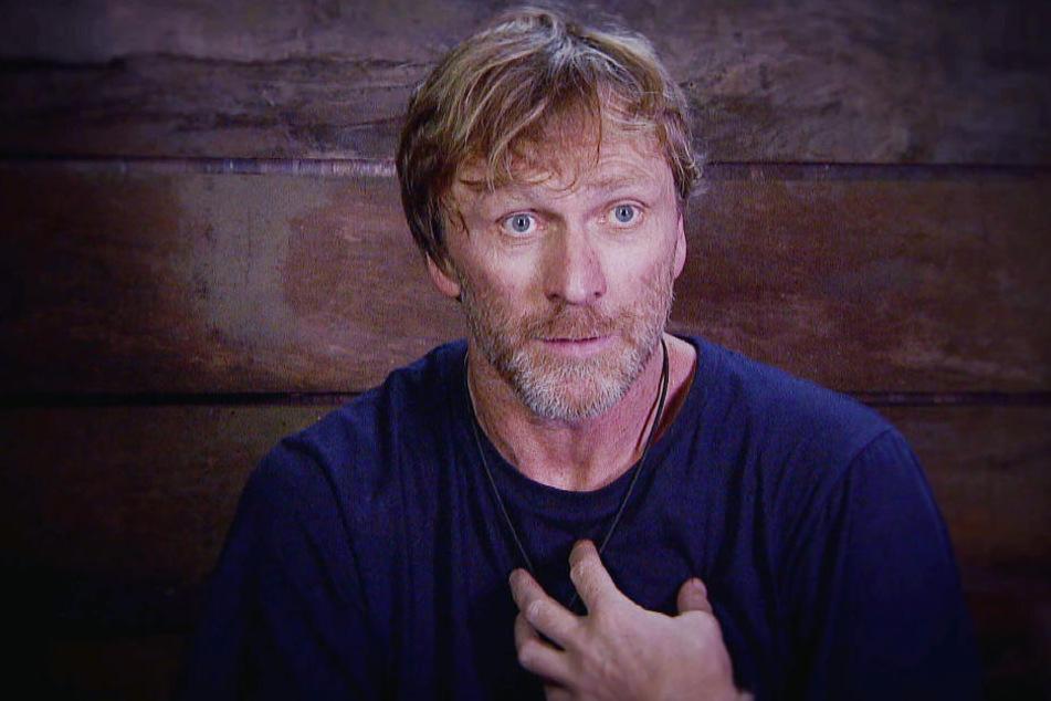 Ansgar Brinkmann hatte einen mächtigen Zoff im Dschungeltelefon, woraufhin er die Reißleine zog.