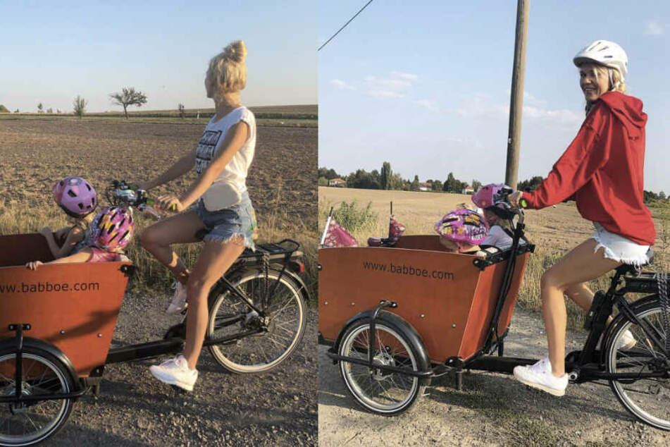 Da hat das Schimpfen der Fans doch gefruchtet: Sara Kulka (28) ist von nun an mit Helm unterwegs.