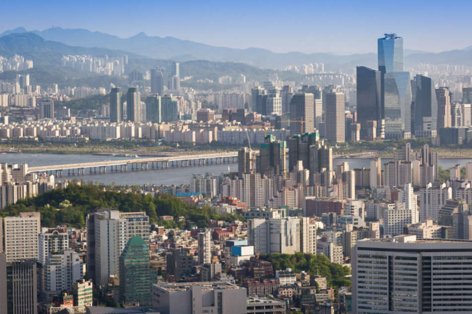 Die Südkoreanische Hauptstadt Seoul.