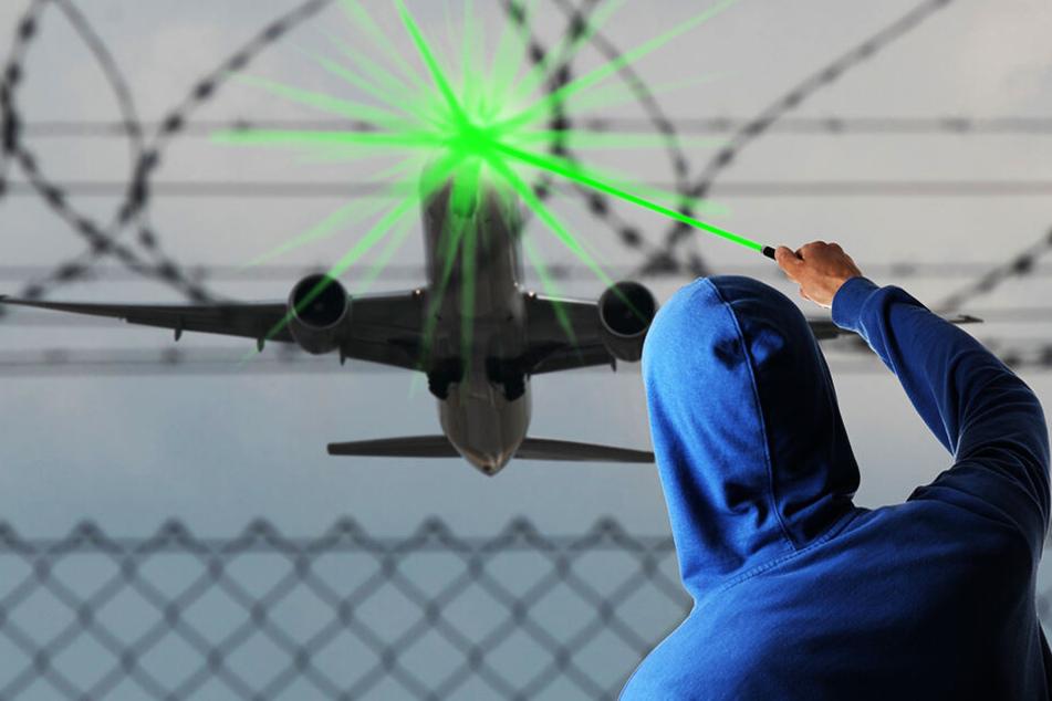 Pilot geblendet: Laser-Attacke auf Passagierflugzeug!