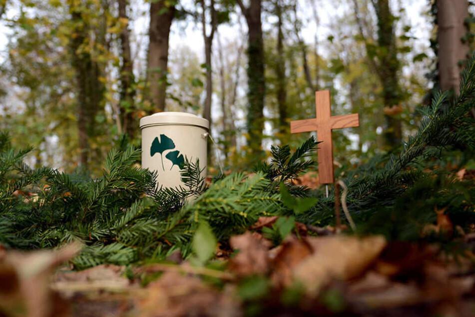 Eigentlich gehört so eine Urne nicht in ein Hotelzimmer sondern auf den Friedhof...