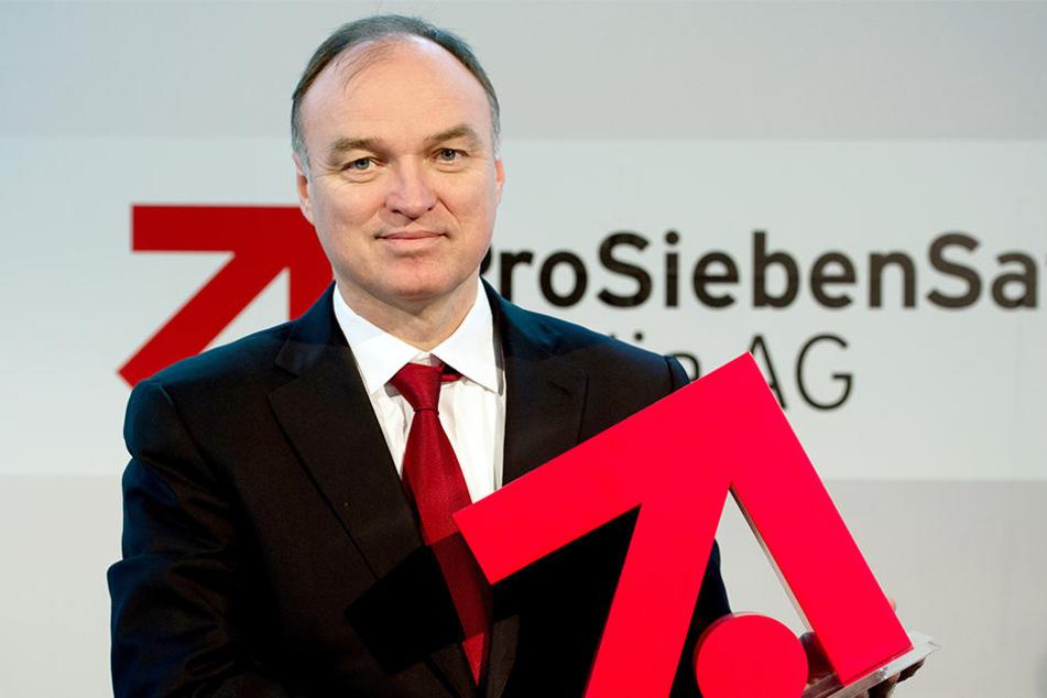 Thomas Ebeling wird nicht erst 2019 sondern schon 2018 bei ProSiebenSat1Media aufhören.