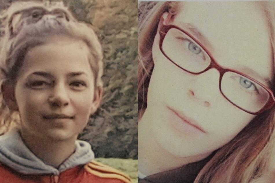 Wo sind Eileen Z. (li. 13) und Emily-Sophie J. (14)?