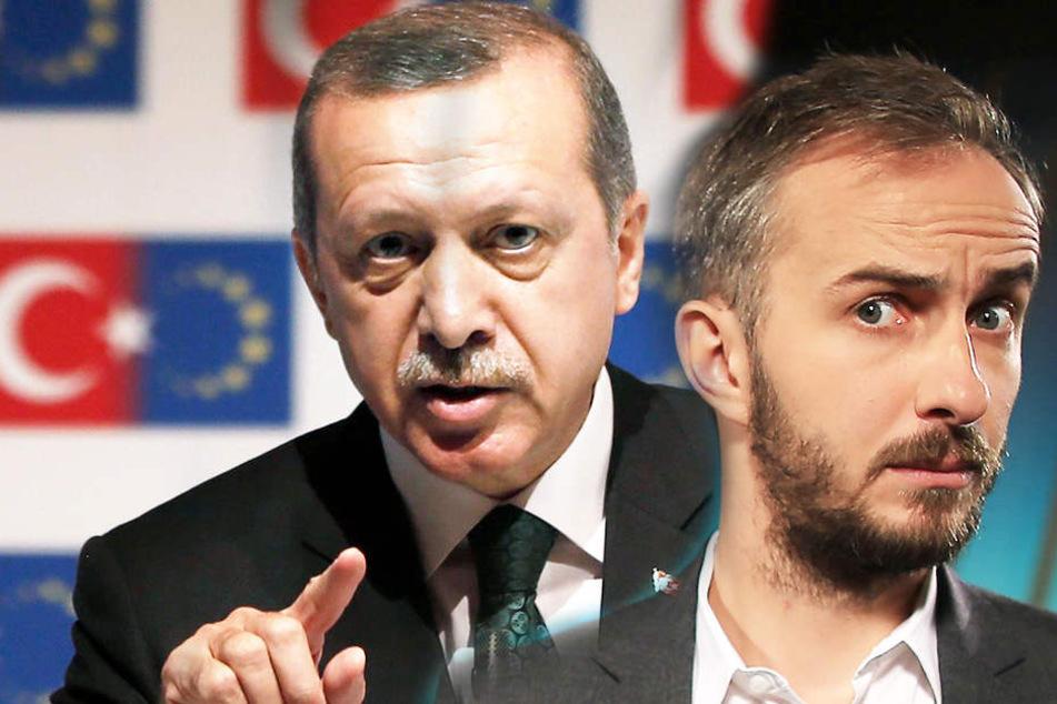 """Enthüllt! Erdogans Schlägertrupps sollten Böhmermann """"abstrafen"""""""