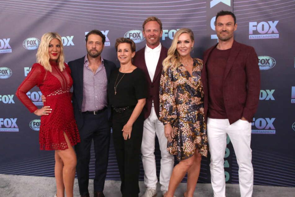 Der Cast der Beverly-Hills-90210-Schauspieler.
